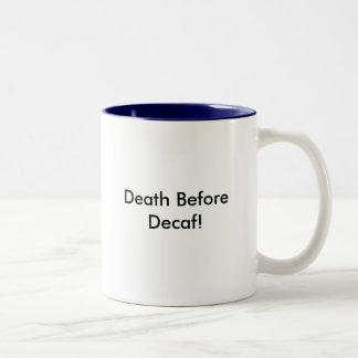 Decafの前の死! ツートーンマグカップ
