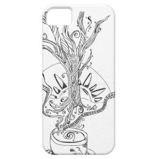 Decafの前の死 iPhone SE/5/5s ケース