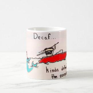 Decafはネズミイルカを敗北させます コーヒーマグカップ