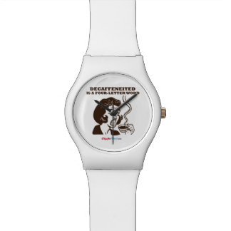 Decafは4手紙の単語です 腕時計