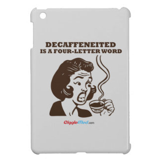 Decafは4手紙の単語です iPad Miniケース