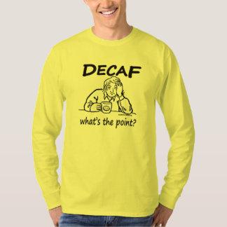 Decafは、何ポイントですか。 Tシャツ