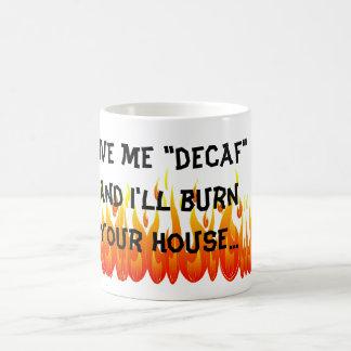 Decaf無し コーヒーマグカップ