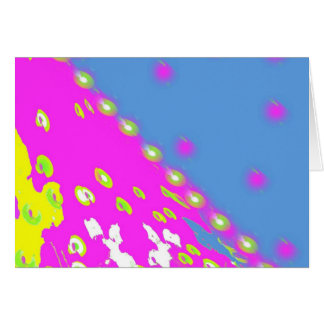 Decoのカラフルなデザイン カード