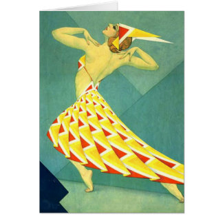 Decoのダンス グリーティングカード