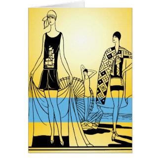 Decoのビーチ カード