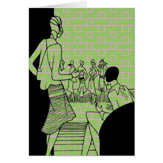 Decoのファッション グリーティングカード