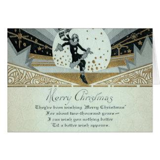 Decoのメリークリスマス グリーティングカード