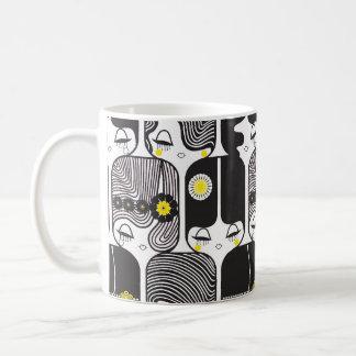 decoの人形のマグ1 コーヒーマグカップ