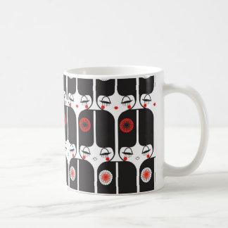 decoの人形のマグ3 コーヒーマグカップ