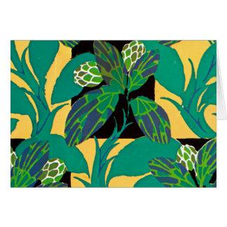 Decoの自然の緑 グリーティングカード