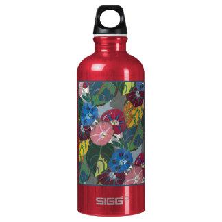 Decoの花および葉 ウォーターボトル