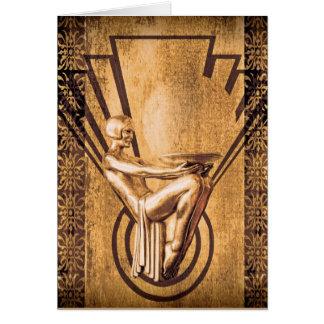 Decoの青銅 グリーティングカード