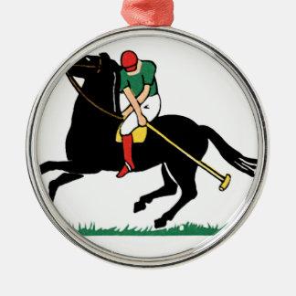Decoの馬のポロ メタルオーナメント