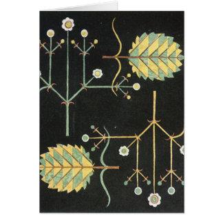 Decoの黒い庭 グリーティングカード