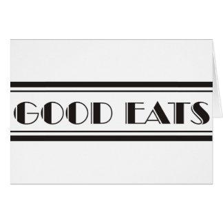 Decoは食べます カード