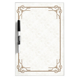 Decoファンシーなフレーム ホワイトボード
