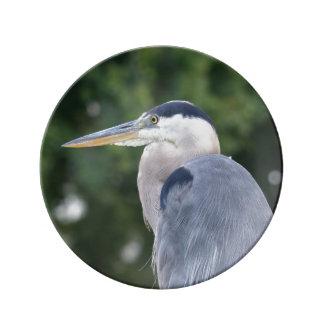 Decoratveの磁器の青い鷲のプレート 磁器プレート