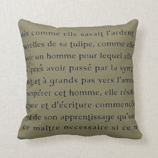 "decroative ""フランスのな原稿""装飾用クッション クッション"