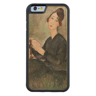 Dedie Hayden 1918年のポートレート CarvedメープルiPhone 6バンパーケース