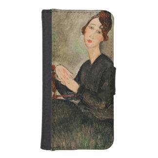 Dedie Hayden 1918年のポートレート iPhoneSE/5/5sウォレットケース
