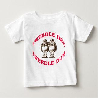 Deeを音楽で誘って下さい及びDumを音楽で誘って下さい ベビーTシャツ