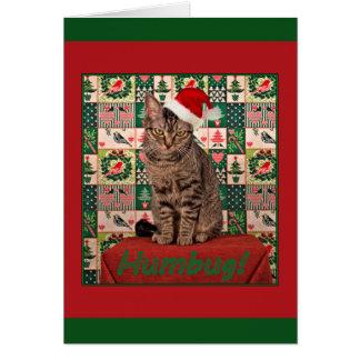 """DeeDeeは""""詐欺""""の-クリスマスカードを言います カード"""