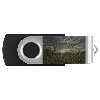 DeepDreamの写真、景色 USBフラッシュドライブ