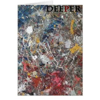 deeper グリーティングカード