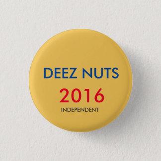 Deezのナットの独立者2016年 3.2cm 丸型バッジ