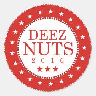 Deezのナット2016年 ラウンドシール