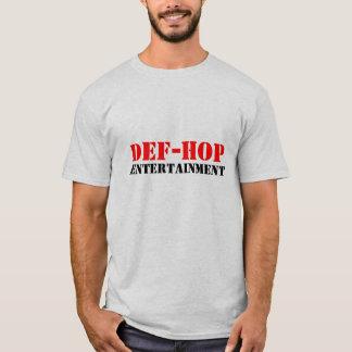 DEF-HOPのエンターテイメント Tシャツ