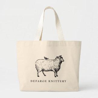 Defarge Knitteryのバッグ ラージトートバッグ
