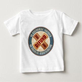 Defundバラック・オバマ ベビーTシャツ