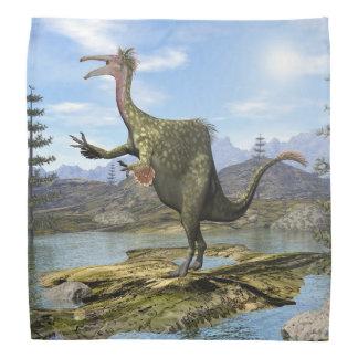 Deinocheirusの恐竜- 3Dは描写します バンダナ