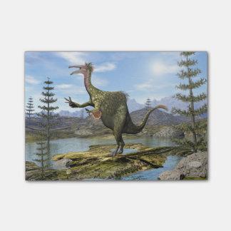 Deinocheirusの恐竜- 3Dは描写します ポストイット
