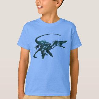 Deinonychusの恐竜のTシャツ Tシャツ