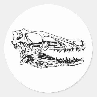 Deinonychus ラウンドシール