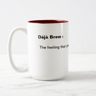 Dejaの醸造物のマグ ツートーンマグカップ