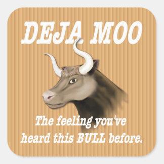 Deja Mooのユーモア スクエアシール