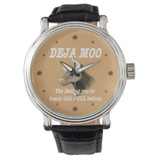 Deja Mooのユーモア 腕時計