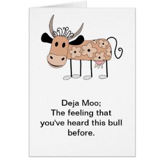 Deja Moo カード