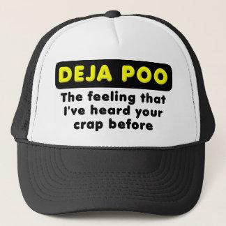 Deja Pooのおもしろいな球の帽子の帽子 キャップ