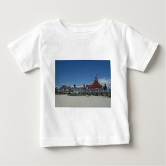 Del Coronadoのホテル ベビーTシャツ