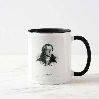 Delacroix著刻まれるヨハンウォルフガングGoethe マグカップ