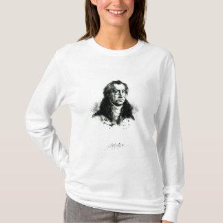 Delacroix著刻まれるヨハンウォルフガングGoethe Tシャツ