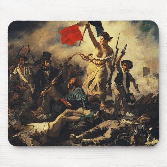 Delacroix,Liberty Leading the People (1830) マウスパッド