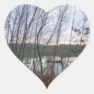 Delamereの森林の沼地そしてBlakemereのコケ ハートシール