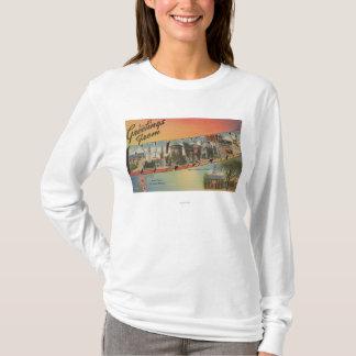 DelawareLargeの手紙ScenesDelaware Tシャツ