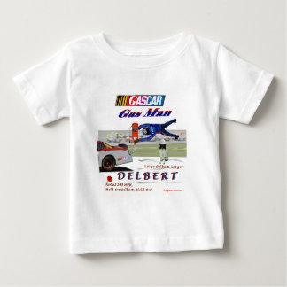 Delbertのガスの人ナスカー ベビーTシャツ
